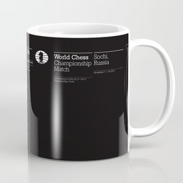 World Chess Championship Match Coffee Mug