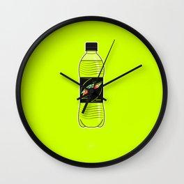 Mtn Dew Bottle Wall Clock