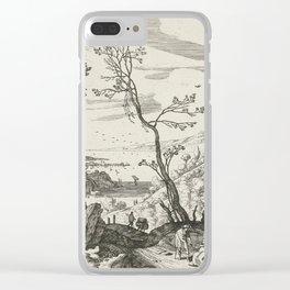 Landscape With Judah And Tamar Willem van Nieulandt II Clear iPhone Case