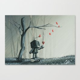 I finally found you Canvas Print