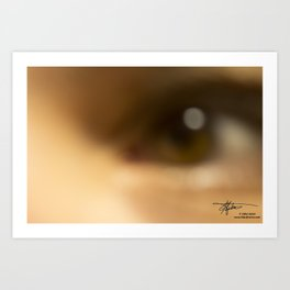 Beyond What You See Art Print