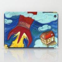 rocket iPad Cases featuring Rocket by kumru acaroglu