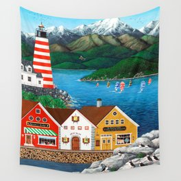 Puffin Point Wall Tapestry