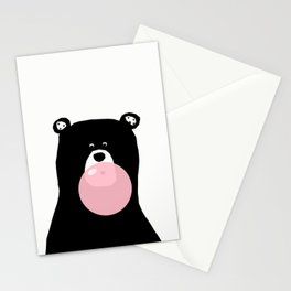 Bear gum Stationery Cards