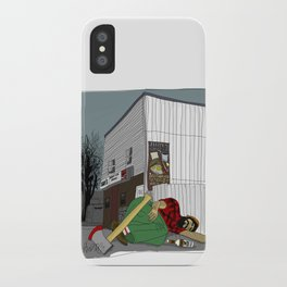 """""""I'm not wakin' him"""" by a.correia iPhone Case"""