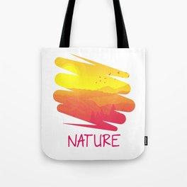 The Nature Retro Style py Tote Bag