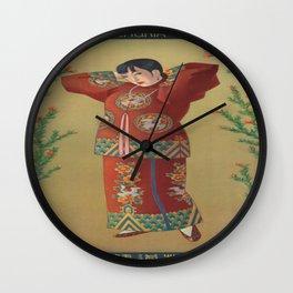 Vintage poster - China Wall Clock