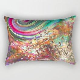Headspin Rectangular Pillow