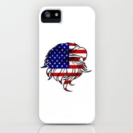 American Eagle - Patriot/Independence Day iPhone Case