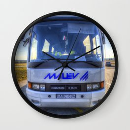 Malev Airlines Bus Wall Clock