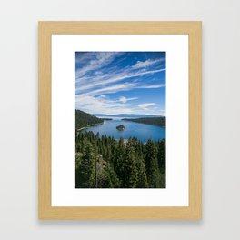 Emerald Bay, Lake Tahoe Framed Art Print