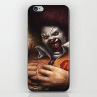 mac iPhone & iPod Skins featuring Ronnie Mac by RodgerPister