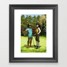 Korrasami - The Fabulous Golf Duo Framed Art Print