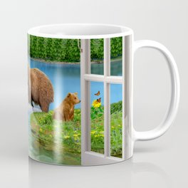 Window to the Great Bear Wilderness Coffee Mug