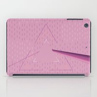 floyd iPad Cases featuring Pink floyd  by Queen Lizard