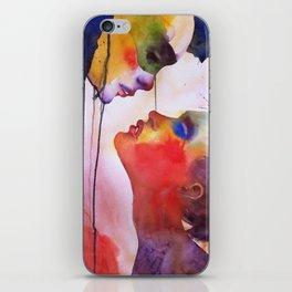 I love you, I hate you iPhone Skin