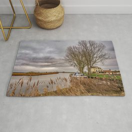 Pub on the River  Rug