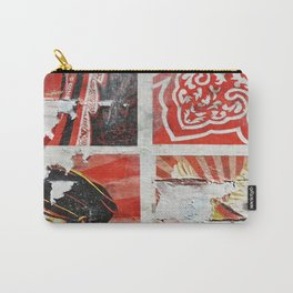 Wall Flower Detail Carry-All Pouch