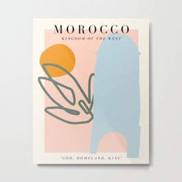 Morocco Exhibition Metal Print