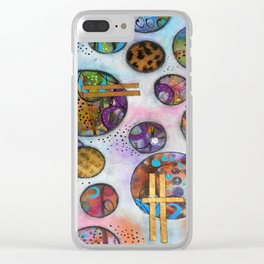 Original Abstract - The Markie Clear iPhone Case
