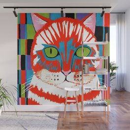Bad Cattitude - Cats Wall Mural