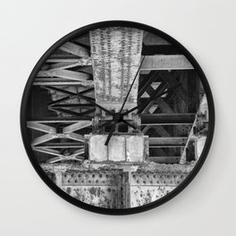 Under the Bridge Wall Clock
