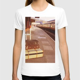 Cases At The Old Train station Warm Hues T-shirt