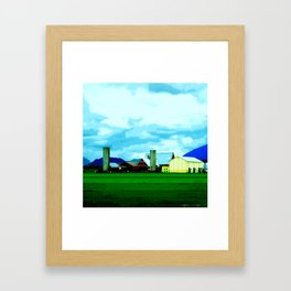 All At Once We Had It In For The Sky Framed Art Print