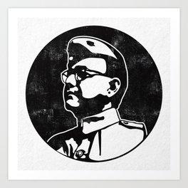 Netaji Subhash Chandra Bose Art Print
