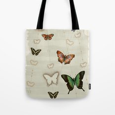 Butterfly Coordinates iii Tote Bag