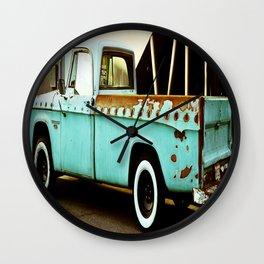 Rusty Dodge (2) Wall Clock