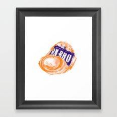 Irn-Bru can Framed Art Print