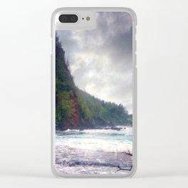 Hana Maui Clear iPhone Case