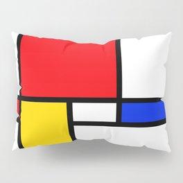 Piet Pattern Pillow Sham