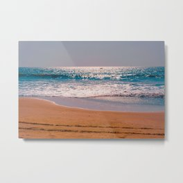 Sand Shine Metal Print