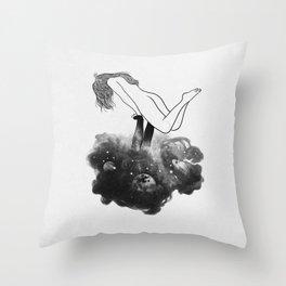 Hands from heaven. Throw Pillow