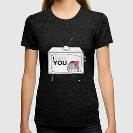 I Hate You / Television T-shirt