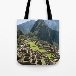 Machu hu Peru Tote Bag