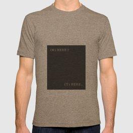 Here. T-shirt