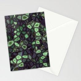 Fractal Gems 04 - Emerald Dreams Stationery Cards