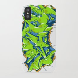 Vecta Wall Smash iPhone Case