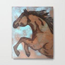 Dream Horse (copper) Metal Print
