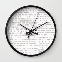 ihq Wall Clock
