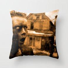 Post Mortem Boredom Throw Pillow