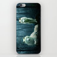 wolves iPhone & iPod Skins featuring Wolves by Julie Hoddinott