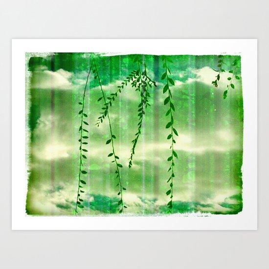 Green Genesis Art Print