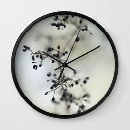 Macro photography nature Wall Clock