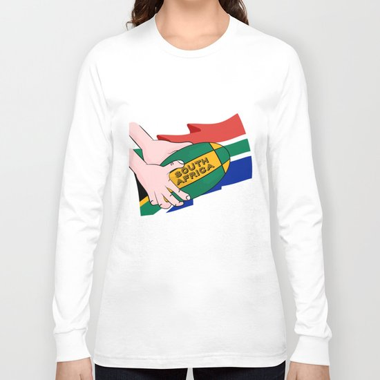 South Africa Rugby Long Sleeve T-shirt
