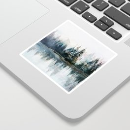 Winter Morning Sticker