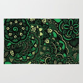 Into the Wild - Green Rug